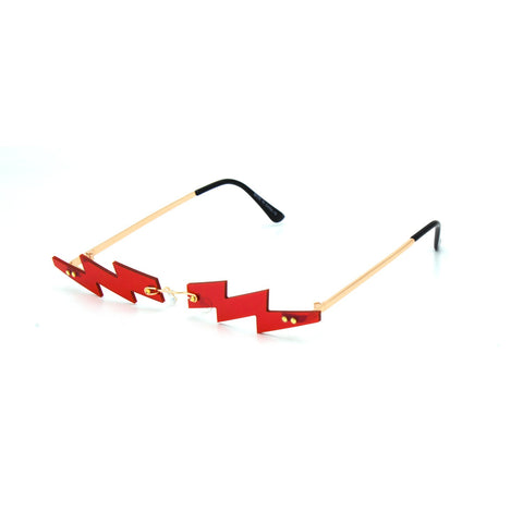 """The Edge"" Fashion Rimless Sunglasses"