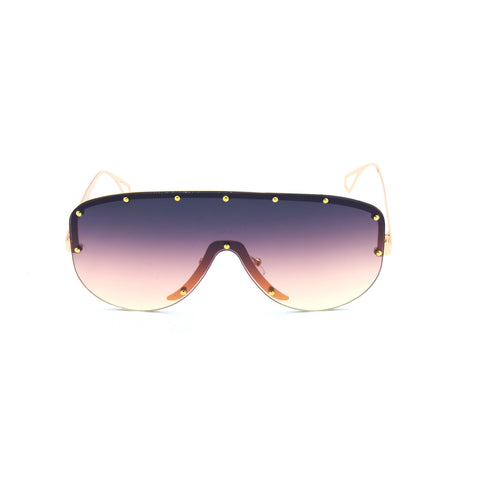 Round Shield Frame Sunglasses