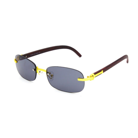 """GAME"" Men's Rectangle Sunglasses - Weekend Shade"