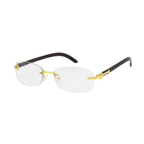 """AFTER GAME"" Men Rimless Sunglasses - Weekend Shade"