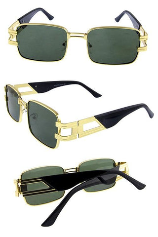 """Bad Guy"" Vintage Men Sunglasses - Weekend Shade"