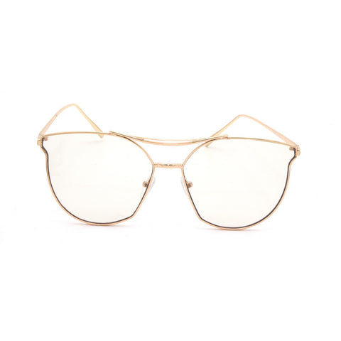 Cat Eye Clear Lens Frames - Weekend Shade