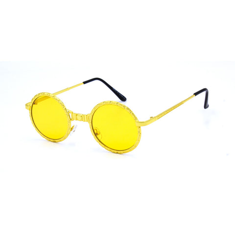 """GLAM 70'S"" Round Sunglasses"