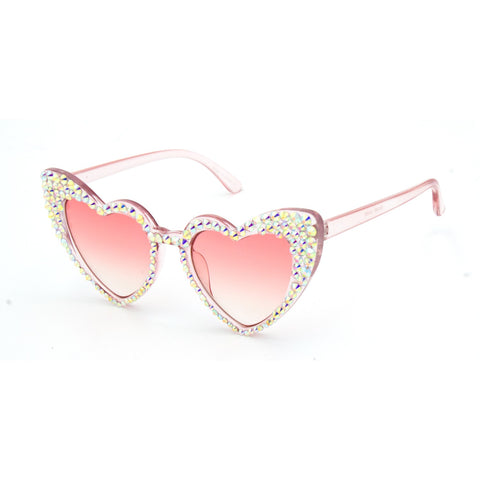 """PRISTY""Heart Shape Plastic Sunglasses"