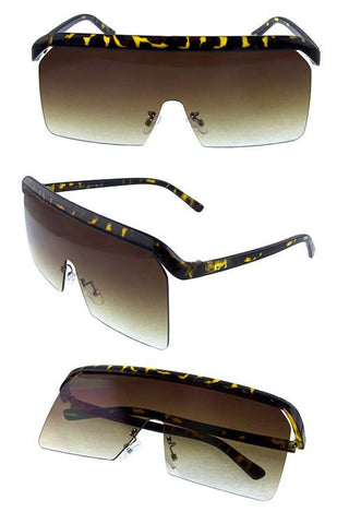 """HOPE"" Rimless Sunglasses - Weekend Shade"