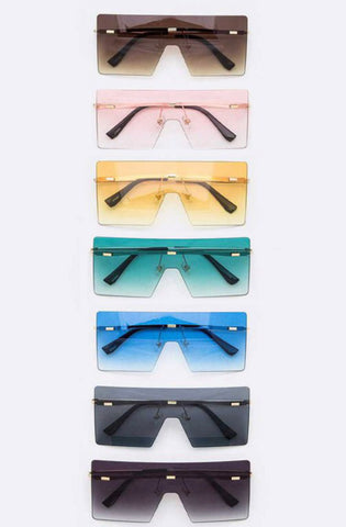 Fashion Shield Square Sunglassss