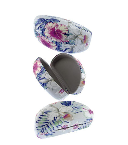 Floral Hard Round Case - Weekend Shade
