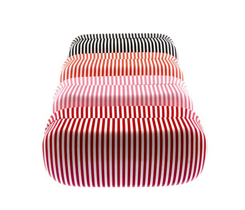 Striped Sunglasses Hard Case