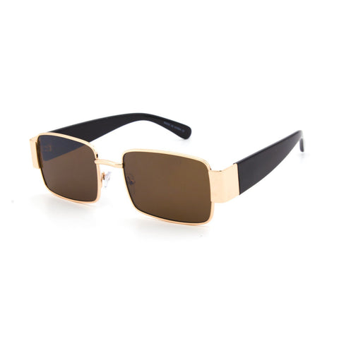 """Basic Essential"" Metal Sunglasses - Weekend Shade"