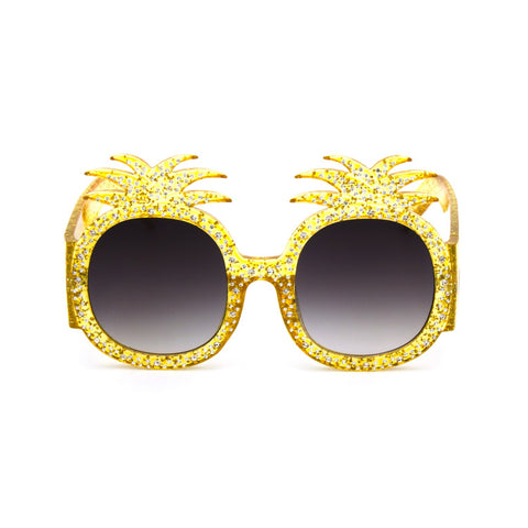 """Pineapple"" Shape Sunglasses"