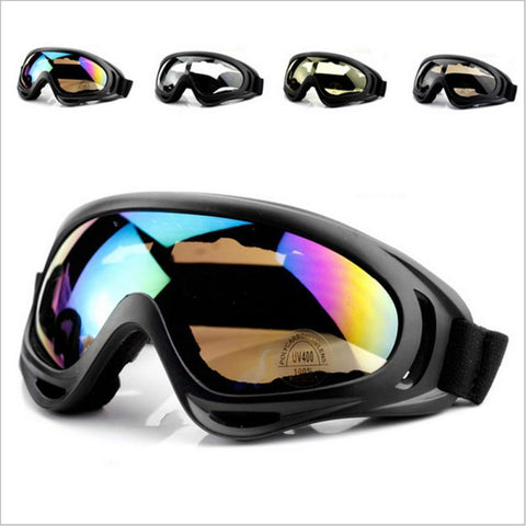 Men Sports Ski Googles