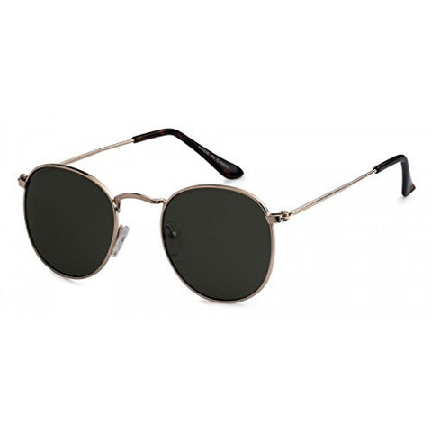 Polarize Round Metal Sunglasses