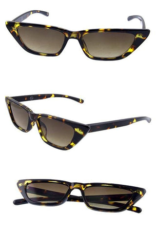 """Ms.Vicky"" Cat Eye Sunglasses - Weekend Shade"