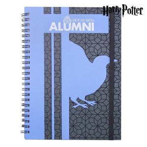 Quaderno con Anelli Ravenclaw Harry Potter