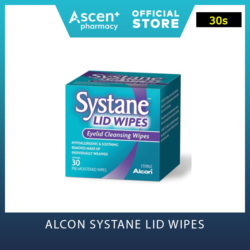 ALCON Systane Lid Wipes [30s]