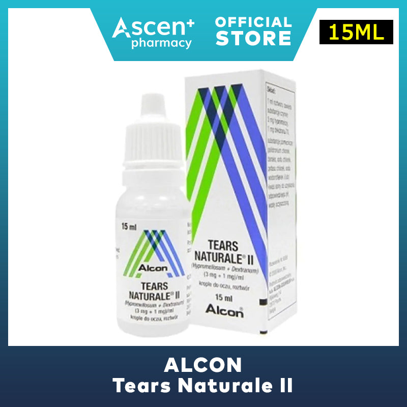 ALCON Tears Naturale II Eye Drops [15ml]