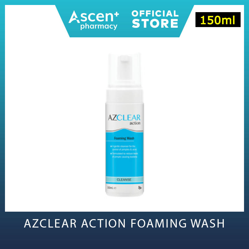 EGO Azclear Action Foaming Wash [150ml]