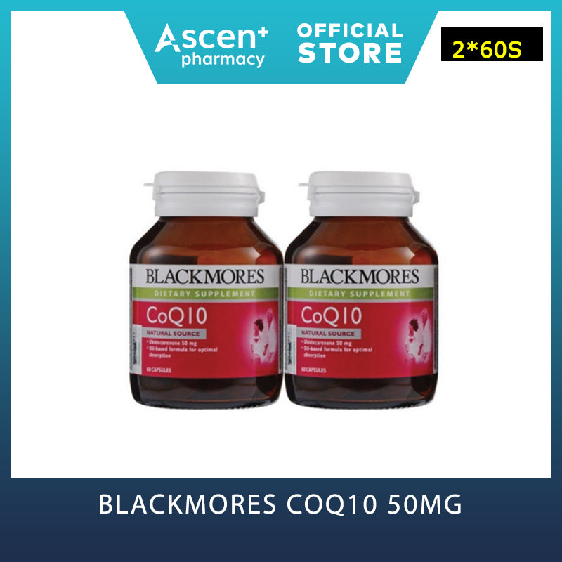 BLACKMORES CoQ10 50mg [2*60s]