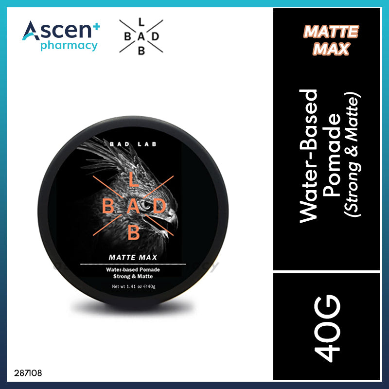BAD LAB Water-Based Pomade (Matte Max) [40g]