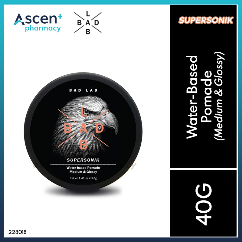 BAD LAB Water-Based Pomade (Supersonik) [40g]