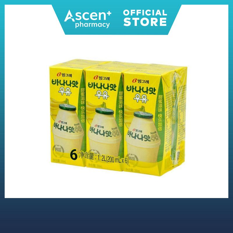 Binggrae Banana Milk 6x200ml