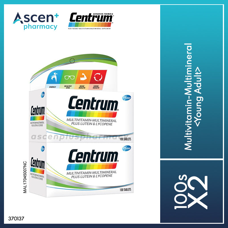 CENTRUM Multivitamin-Multimineral <Young Adult> [2x100s]