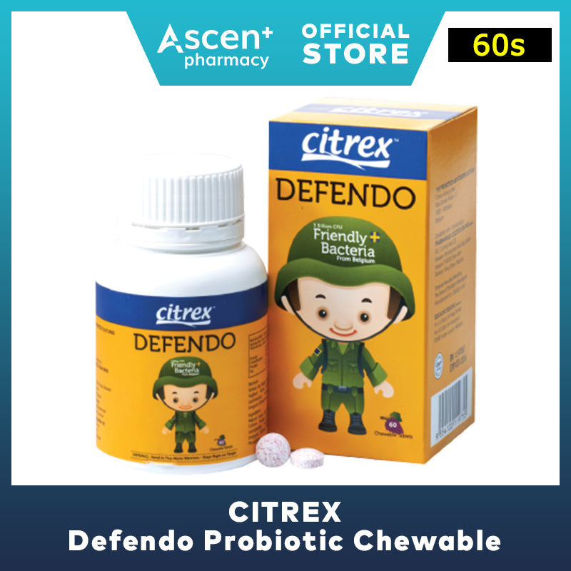 CITREX Defendo Probiotic Chewable [60s]