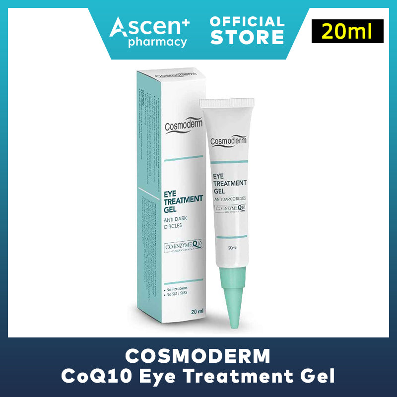 COSMODERM CoQ10 Eye Treatment Gel [20ml]