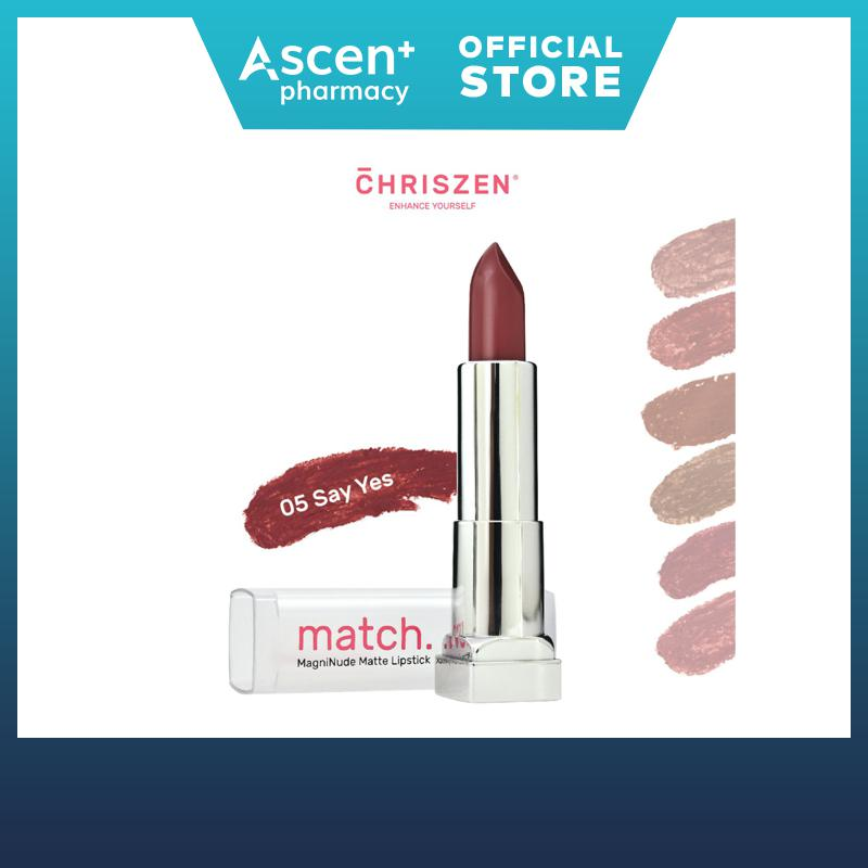 Chriszen MAGNINUDE MATTE LIPSTICK 06 DUSTY ROSE 3.5g