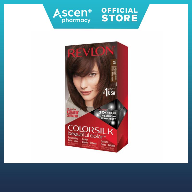 Revlon Colorsilk Haircolor 32 Dark Mahogany Brown