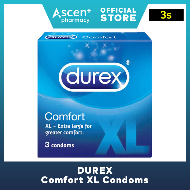 DUREX Comfort XL Condoms [3s]