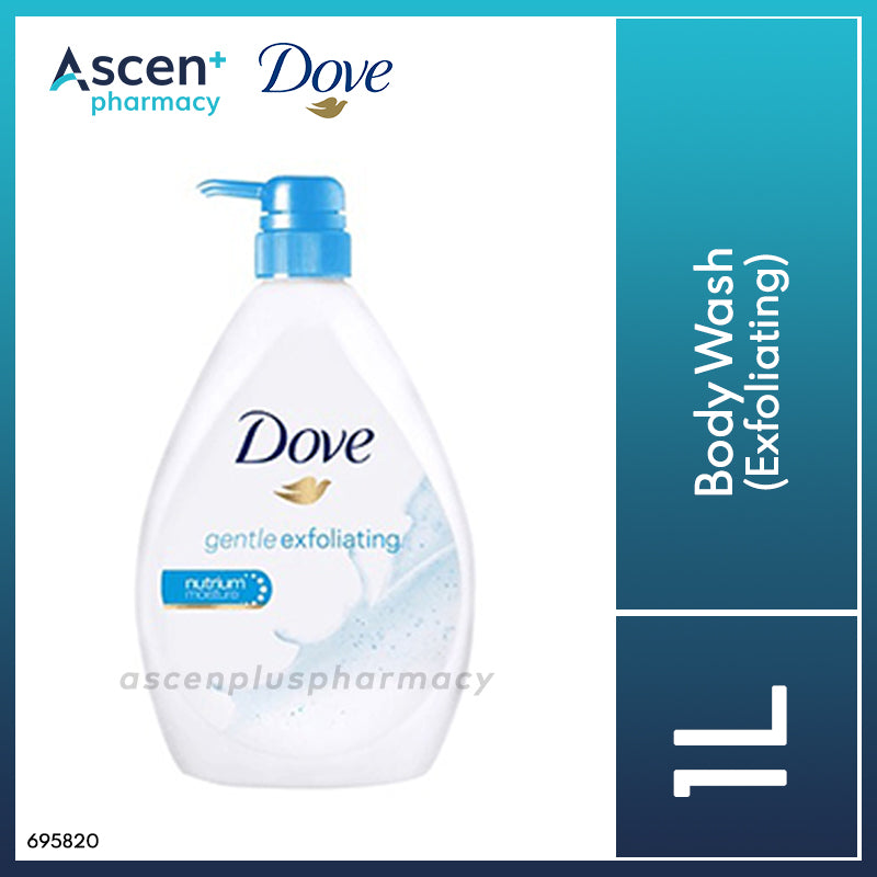 DOVE Body Wash 1L Exfoliating