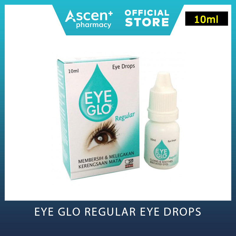 EYE GLO Eye Drops [10ml] Regular