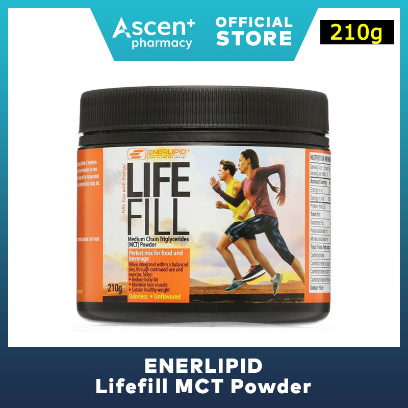 ENERLIPID Lifefill MCT Powder [210g]