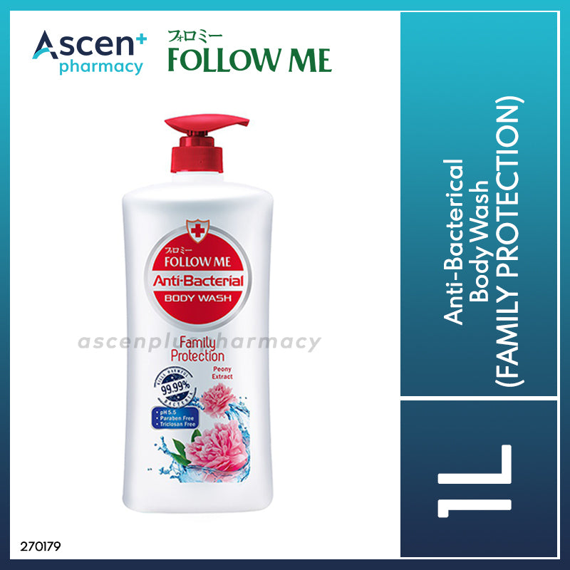 FOLLOW ME Anti-Bacterical Body Wash [1L] Family Protection