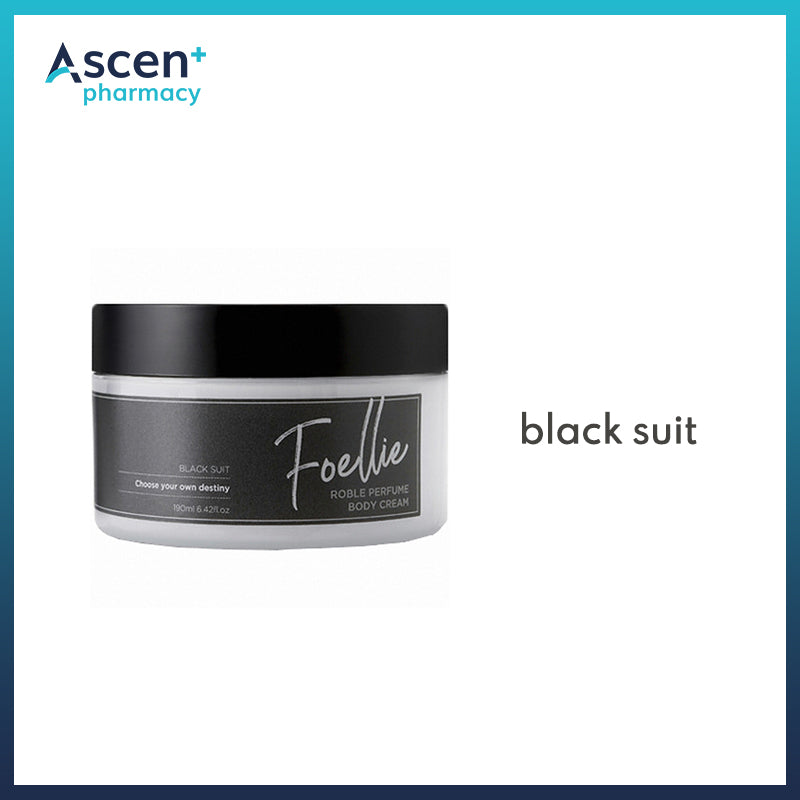FOELLIE Perfume Body Cream [190ml] Black Suit
