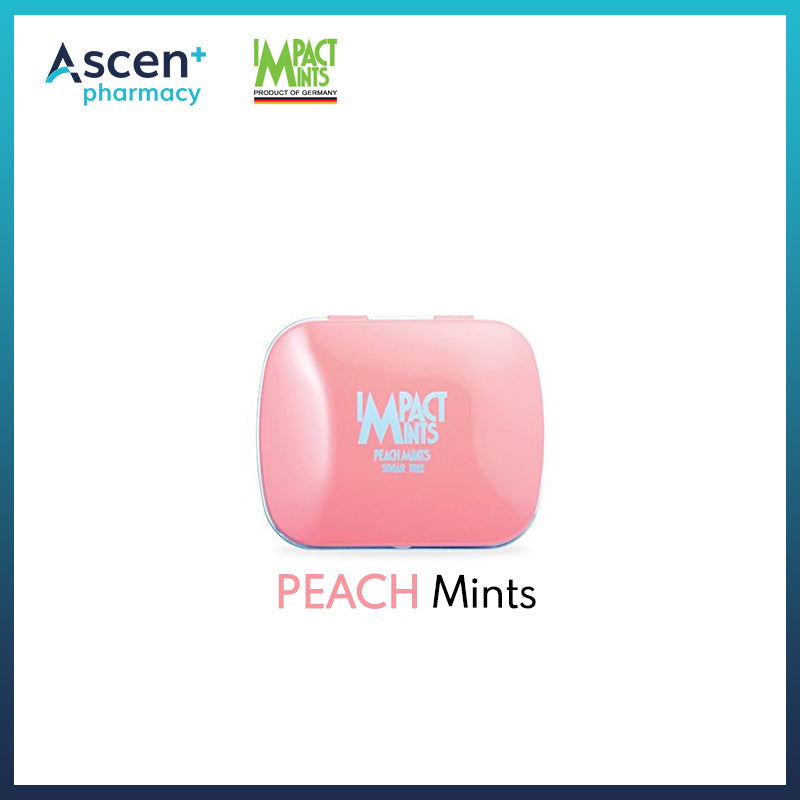 IMPACT MINTS Sugar Free [14g] Peach