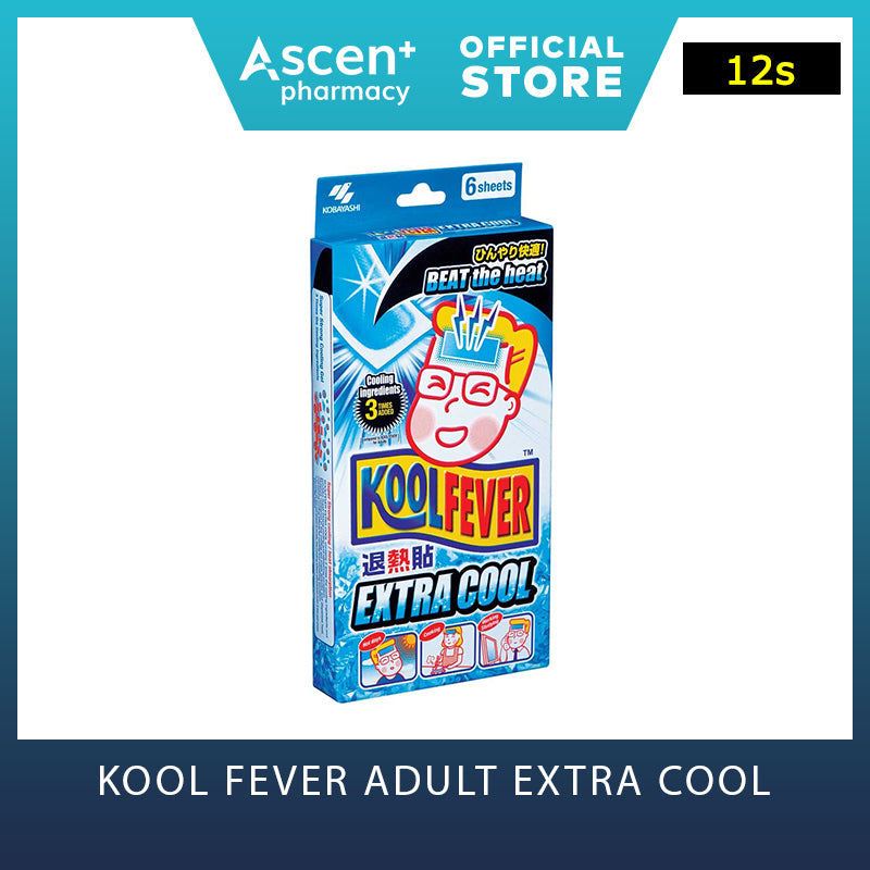 KOOL FEVER Adult Extra Cool [12s]