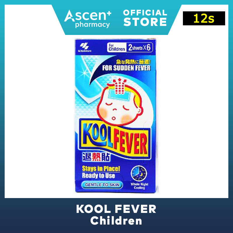 KOOL FEVER Children [12s]