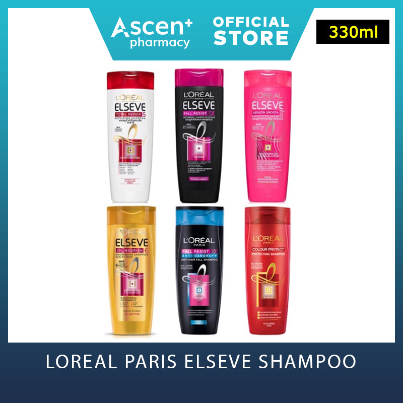 LOREAL Paris Elseve Shampoo [330ml] Fall Resist 3x