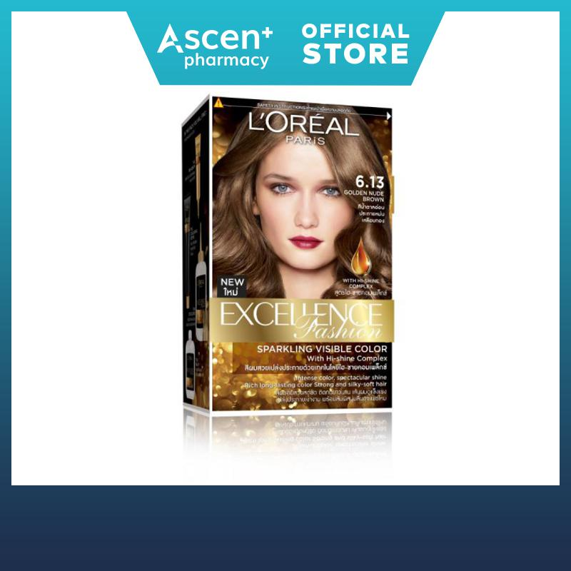 Loreal Paris EXCELLENCE FASHION 6.13 GOLDEN NUDE BROWN