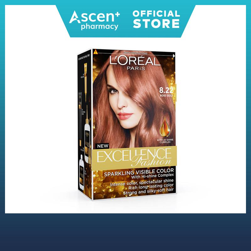 Loreal Paris EXCELLENCE FASHION 8.22 ROSE GOLD