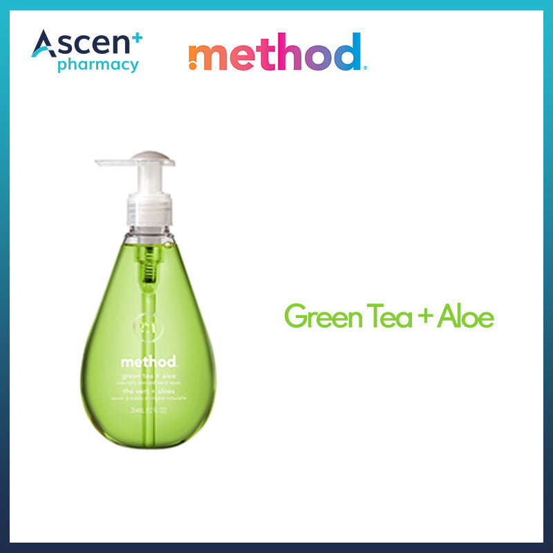 METHOD Gel Hand Wash [354ml] Green Tea + Aloe