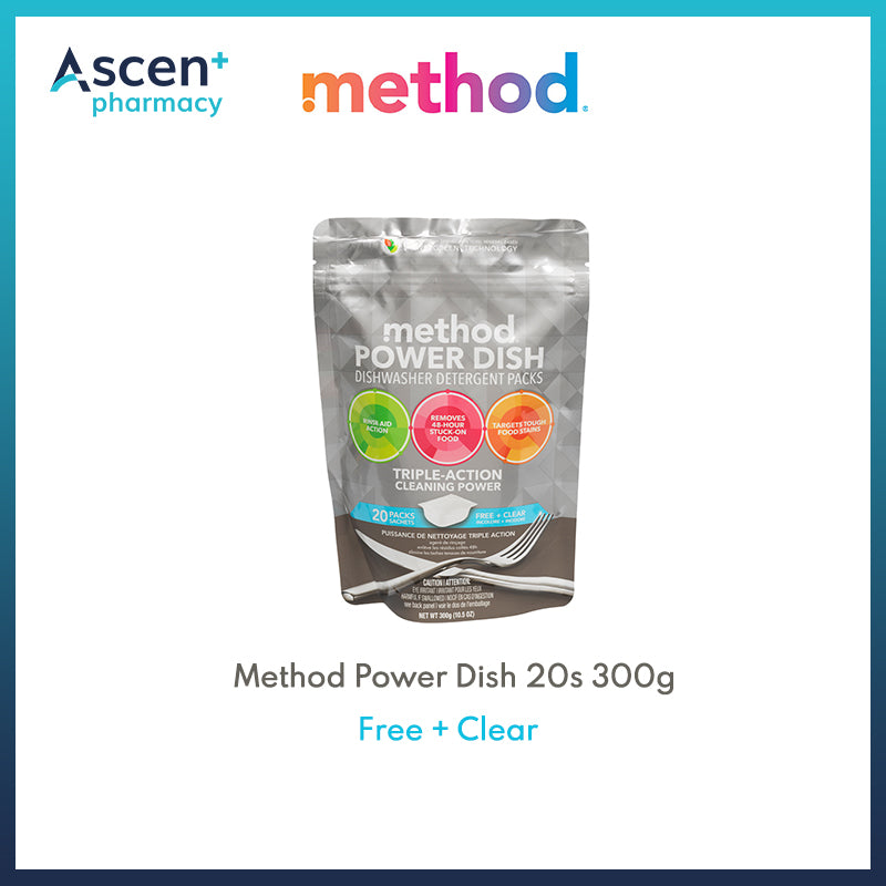 METHOD Power Dish 20s [300g] Free + Clear