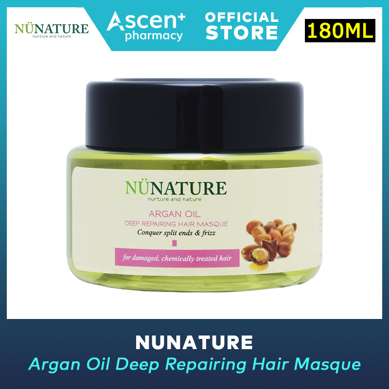 NUNATURE Hair Masque (Argan Oil Deep Repairing) [180ml]