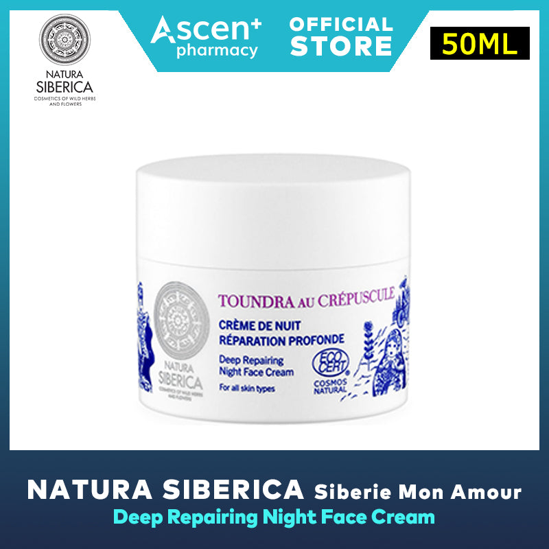 NATURA SIBERICA Siberie Mon Amour Face Cream [50ml] Deep Repairing Night