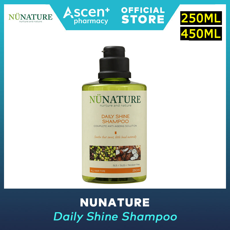 NUNATURE Shampoo (Daily Shine) 450ml