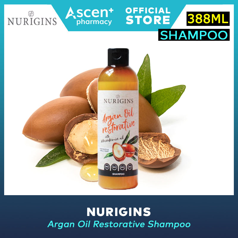 NURIGINS Shampoo [388ml] Argan Oil Restorativ