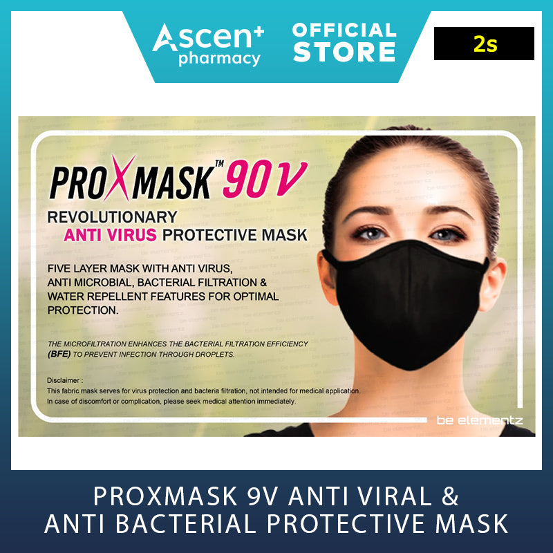 PROXMASK 90V Anti Virus and Anti Bacterial Protective Mask [2s]