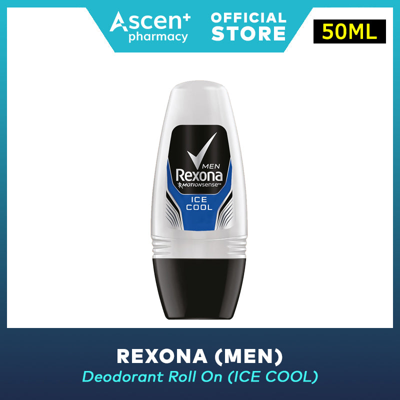 REXONA Deodorant Roll On (Men) [50ml] - Ice Cool